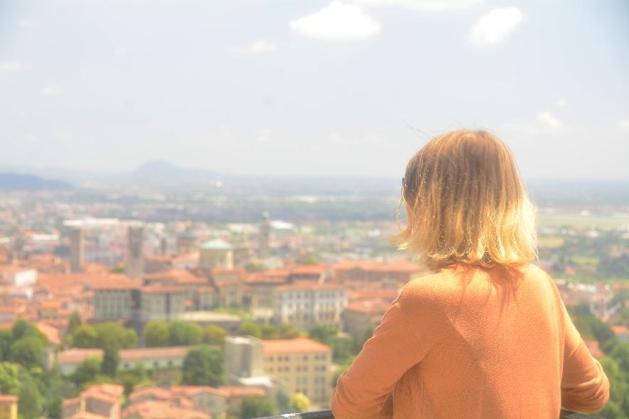 Bergamo bird view