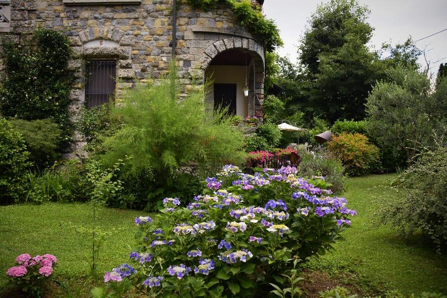 Crespi D'adda garden