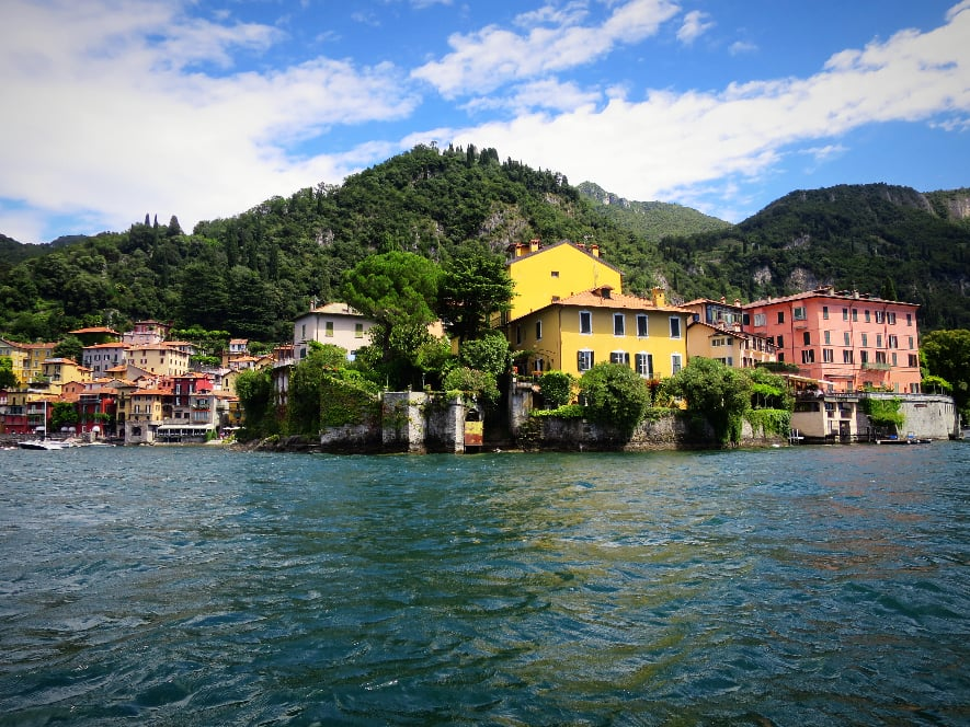 Varenna from boat
