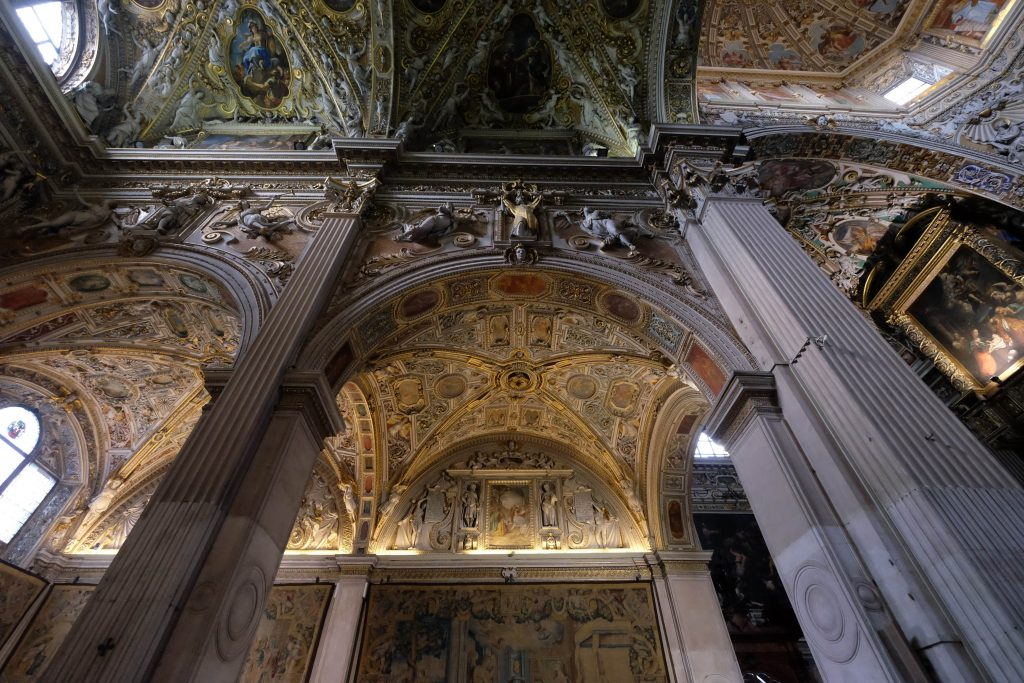 Bergamo Cathedral interior