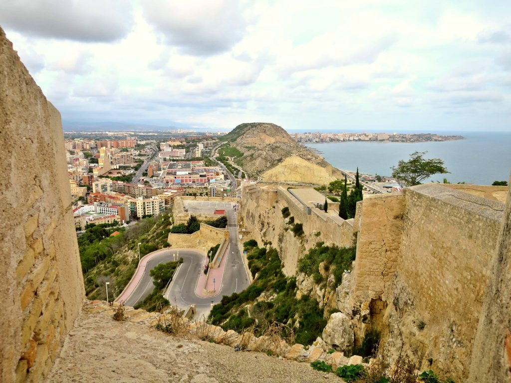 Santa barbara castle view