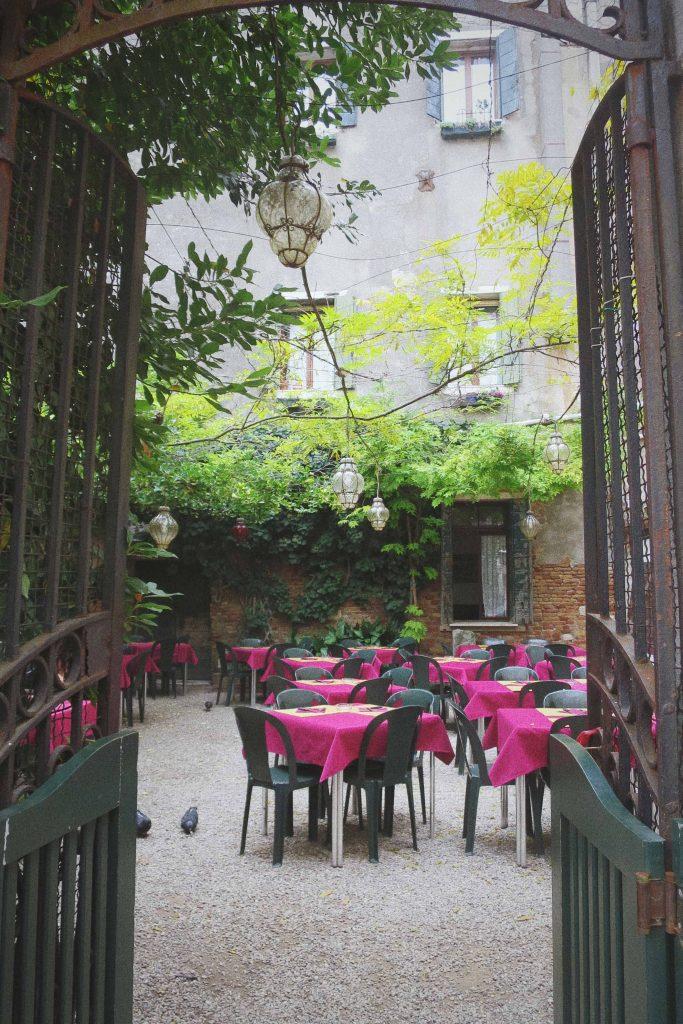 Venice garden restaurant