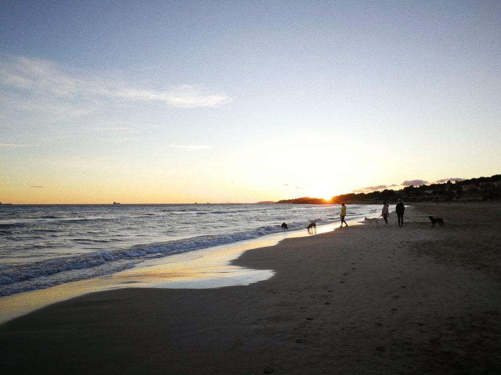 Tarragona beach