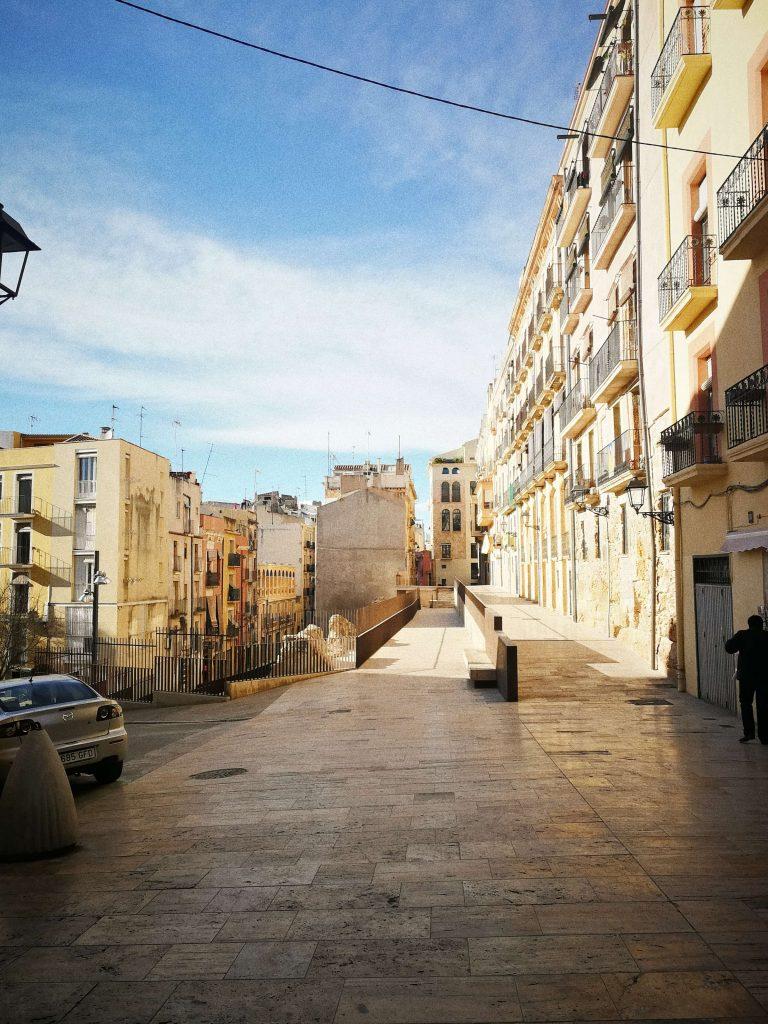 Tarragona old town views