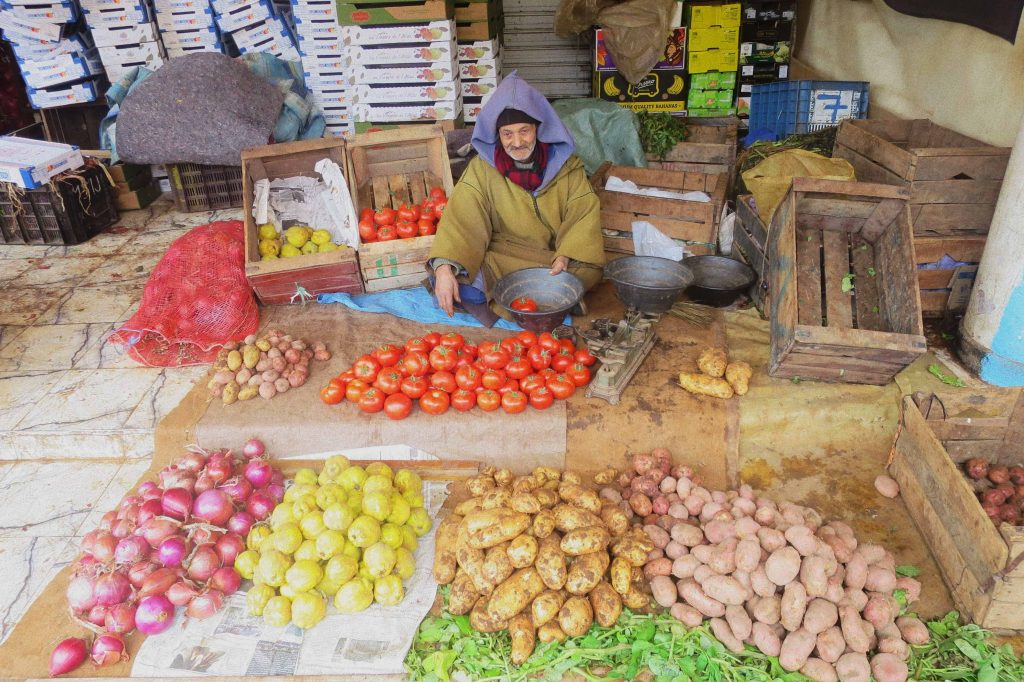 Taste of Morocco. Vivid, vibrant and authentic food of Morocco