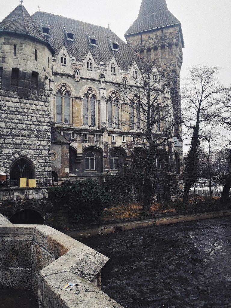 charming Vajdahunyad Castle
